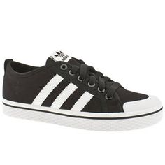 Adidas low stripes.