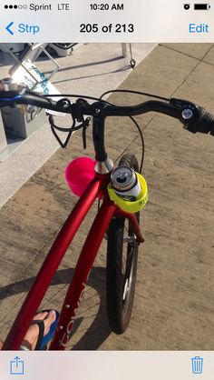 The Ultimate Cup Holder can even be strapped on to your bike to hold your water or sports drink