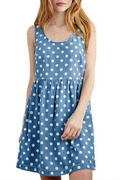polka dot dress| $14.95  kawaii pastel fairy kei otome kei hipster fachin dress polka dot under20 under30 free shipping rosegal