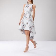 ANNEKA JACQUARD DRESS