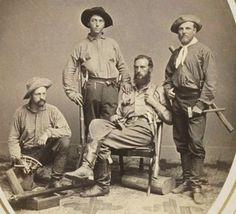It's About Time: Photos-1840s-1850s-Nearly Arcane Trades  Miners