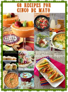 Bobbi's Kozy Kitchen: 68 Recipes for Cinco de Mayo