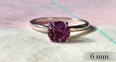 Alexandrite Ring Color Changing Alexandrite by AbishJewelryWorks, $79.53