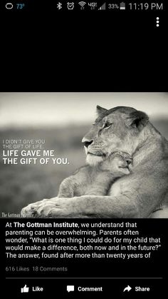 Life gave me the gift of you