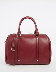 Image 1 ofASOS Stud Detail Bowler Bag