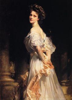 Lady Astor by John Singer Sargent, 1908.