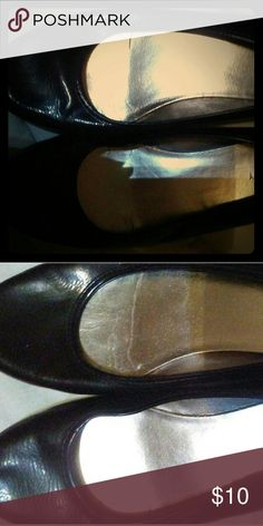 Old Navy Slip-Ons Old Navy black Slip-On cute shiny Mary James, only worn 3 times good condition Old Navy Shoes Flats & Loafers