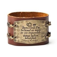 This. This cuff is awesome. And true. Sometimes it's twelve. : D