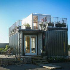 THE CPH CONTAINER VILLAGE - DWELL BOXES