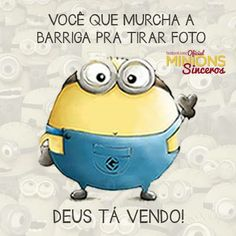 58 Ideas For Memes Brasileiros Boa Noite Humor Minion, Minions Cartoon, Minions Images, Minions Quotes, Funny Kids, Funny Cute, Hilarious, Funny Cartoons, Funny Memes
