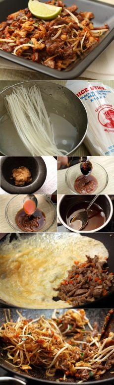 Готовим дома классический пад тай (Pad Thai) — Вкусные рецепты