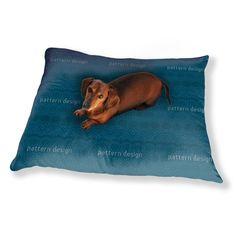 Uneekee Alhambra Petrol Dog Pillow Luxury Dog / Cat Pet Bed