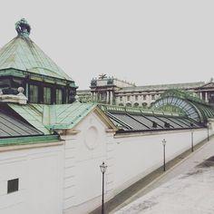 Palmenhaus Wien #Austria #travel #vienna #wien #palmenhaus #burggarten #architecture #archifruit #instagood #travelgood #travel #traveladdiction #reisesucht #reiselust #bestlocation #steel #glass #glasshouse #palms