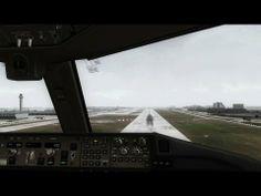 PMDG 777 Extreme graphics landing Miami! [HD]