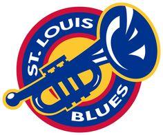NHL  LOGOS STL BLUES | St. Louis Blues Alternate Logo - National Hockey League (NHL) - Chris ...
