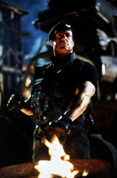 Picture of Sylvester Stallone Action Film, Action Movies, Silvester Stallone, Demolition Man, Black Comics, Punisher Marvel, Sci Fi Films, Rocky Balboa