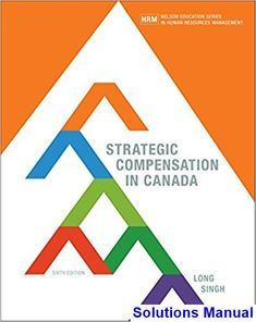 Solutions Manual for Strategic Compensation in Canada Canadian 6th Edition by Long IBSN 9780176657161