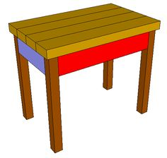 Jays Custom Creations How To Build A Comfortable 24 Bench And Side Table Jays Custom 49615759 Diy Furniture Chair, Outdoor Furniture Plans, Diy Pallet Furniture, Diy Furniture Projects, Diy Chair, Wood Projects, Outdoor Projects, Woodworking Projects, Furniture Buyers