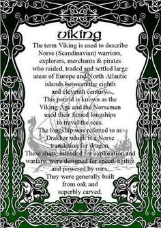 First husband was Norwegian. The Vikings. The ones that raided and pillaged the innocent villagers. Norse Pagan, Old Norse, Norse Mythology, Viking Life, Viking Warrior, Iron Age, What Is A Viking, Viking Facts, Thor