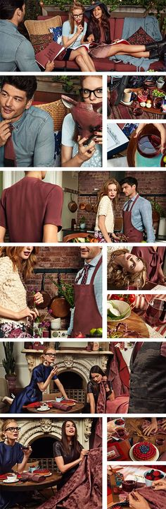 Marsala, color of the year in 2015. See how you can wear it and how you can decorate with it. #pantone #coloroftheyear #marsala