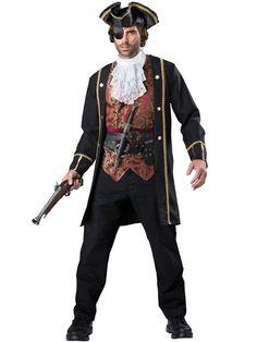 Pirate Captain Costume Adult