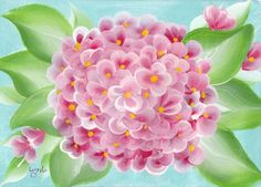 Hydrangeas are easy flowers to paint using the One Stroke Painting technique. The strokes are so simple that any beginner can master them in a very short time. I'll show you in this step by step tutorial how I made this easy hydrangea flower painting so that you can make one for yourself. I'll also show you how to embellish … Continue reading →