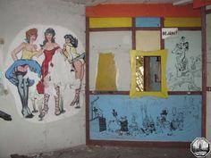 An amusement park in Dunaújváros, Hungary (1952-1993)