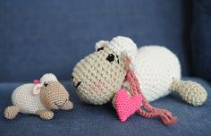 Pecorelle con amigurumi