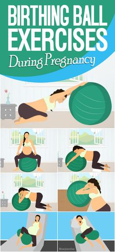 Birthing Ball Exercises During Pregnancy, Labor And Beyond : Most women prefer a normal delivery to a C-section. If you do too, you can try using a birthing ball to increase your chances of a vaginal delivery. Pregnancy First, Pregnancy Early Exercise During Pregnancy, Pregnancy Labor, Pregnancy Workout, Pregnancy Videos, Pregnancy Pictures, Paleo Pregnancy, Pregnancy Timeline, Pregnancy Memes, Pregnancy Fitness