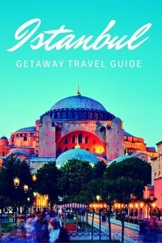 Planning a quick getaway to Istanbul? This guide will help you plan where to go stay, what to see in Istanbul, and what yummy Turkish food to eat!