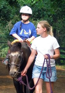 disabled child horse | Disabled children blossom when interacting with horses
