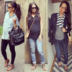 Cute pregnancy looks! Shop. Rent. Consign. MotherhoodCloset.com…