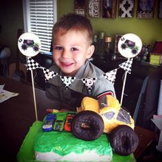 """Photo 3 of 18: monster trucks/racing/cars / Birthday """"Jude turns 4 Monster Jam Style"""" 