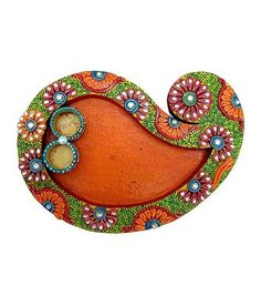 Papermache Handmade Pooja Thali By chitrahandicraft Puja Supplies on Shimply.com