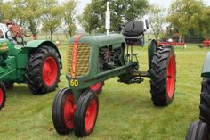 Oliver 60 Row Crop Tractor.   Flickr - Photo Sharing!
