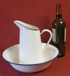 jug and bowl wash set - Google Search