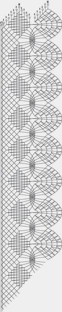 A legyező és a szövéses négyzet mellé vegyük a pókot. A pók lehet keretes, vagy nem. Most a keret nélküli pókkal készült egyik változatot né... Bobbin Lace Patterns, Tatting Patterns, Loom Patterns, Hairpin Lace Crochet, Crochet Motif, Crochet Edgings, Crochet Shawl, Lace Making, Book Making