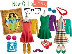 TV Show Halloween Inspiration - New Girl's Jess