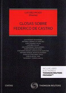 Glosas sobre Federico de Castro / Luis Díez-Picazo (director). - 2015
