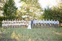 Boys in suspenders @ rustic wedding :)