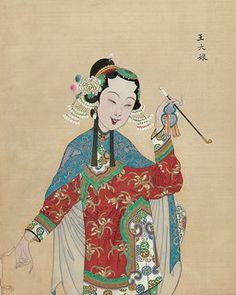 Chinese Opera figure c   Flickr - Photo Sharing!