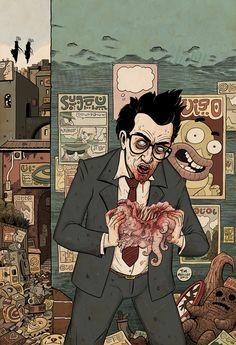 Tim Molloy Art Psychedelic
