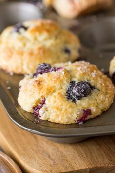 These Best Ever Buttermilk Blueberry Muffins have it all! Sweet juicy blueberries, a sparkling sugar topping, and the most delicious tender crumb!
