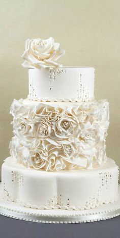 Wedding Cake with a neat base