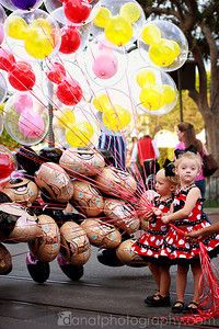 Disney balloons - love!!