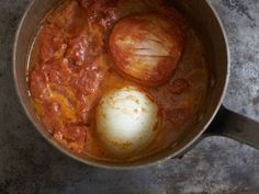 Marcella Hazan's Tomato Sauce with Butter and Onion. One of the most famous recipes on the Internet.