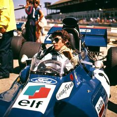 Francois Cevert French Formula 1 driver and the definition of old school cool (1971)