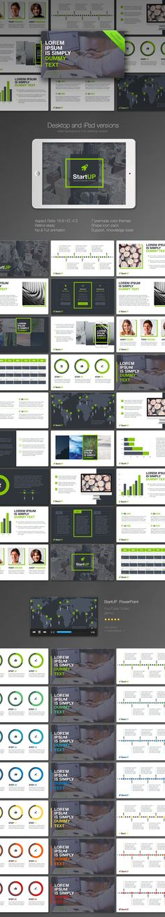 StartUP KeyNote - Keynote Business Presentation Template by Powerpoint Icon, Professional Powerpoint Templates, Business Powerpoint Templates, Powerpoint Presentation Templates, Keynote Template, Powerpoint Presentations, Keynote Presentation, Presentation Slides, Business Presentation