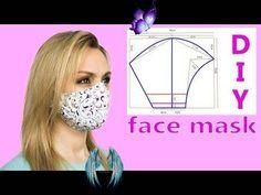 😷 Cloth Face Mask Diy 😷 Face Mask Pattern   Face Mask Sewing Tutorial 😷 Cloth Face Mask Diy 😷 Face Mask Pattern   Face Mask Sewing Tutorial - YouTube<br> Baby Sewing Projects, Sewing Patterns For Kids, Sewing Projects For Beginners, Sewing Tutorials, Sewing Hacks, Pattern Sewing, Easy Face Masks, Diy Face Mask, Fashion Face Mask