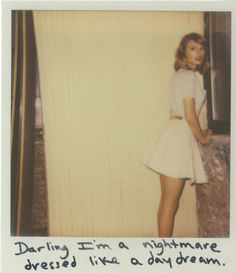 Taylor Swift Polaroid 23 - Blank Space #1989